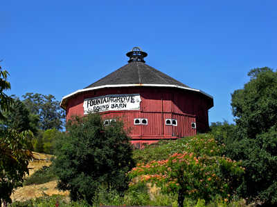 Santa Rosa Round Barn Before